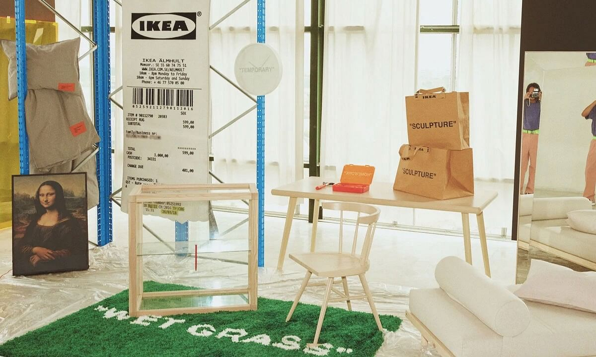 Virgil Abloh x Ikea