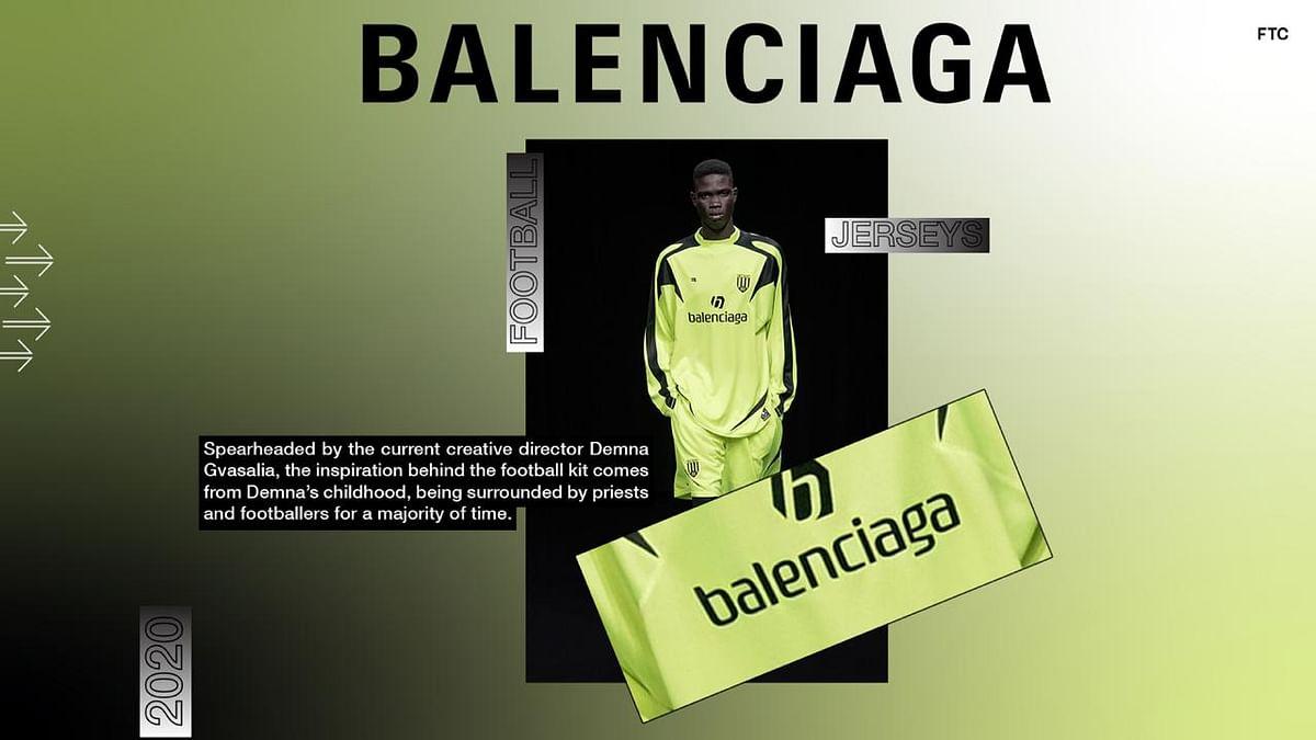 Balenciaga Enters The League Of Football Kits With An Experimental Debut