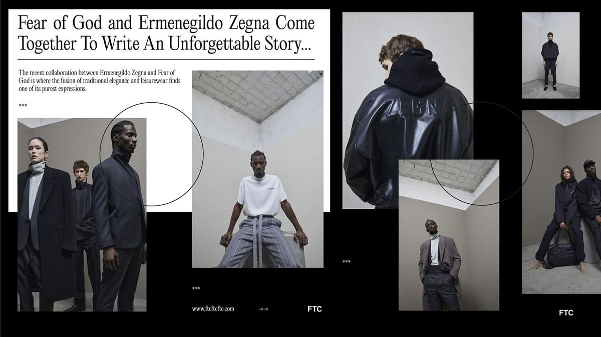Fear of God and Ermenegildo Zegna Come Together To Write An Unforgettable Story