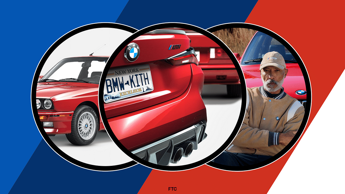 KITH x BMW Partner For An Extensive One-Of-A-Kind Collaboration