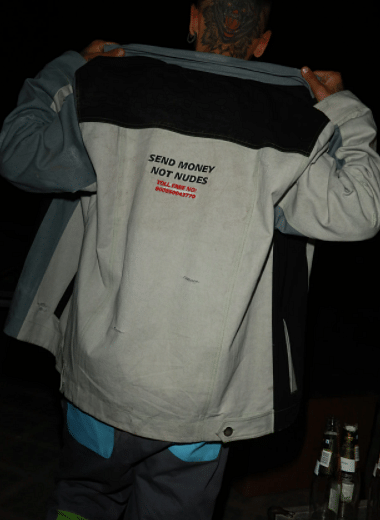 MONEY > NUDES JACKET FROM TRAP MONEY