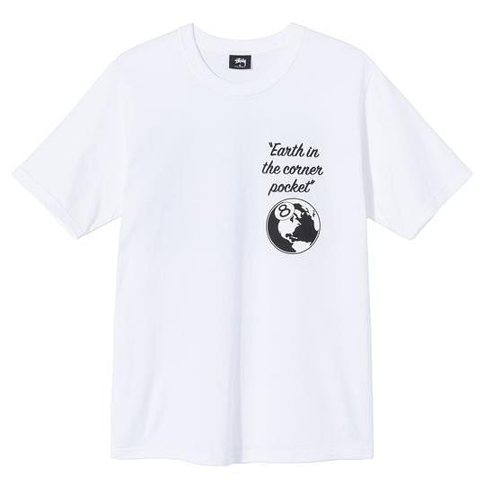 Graphic printed white tee shirt