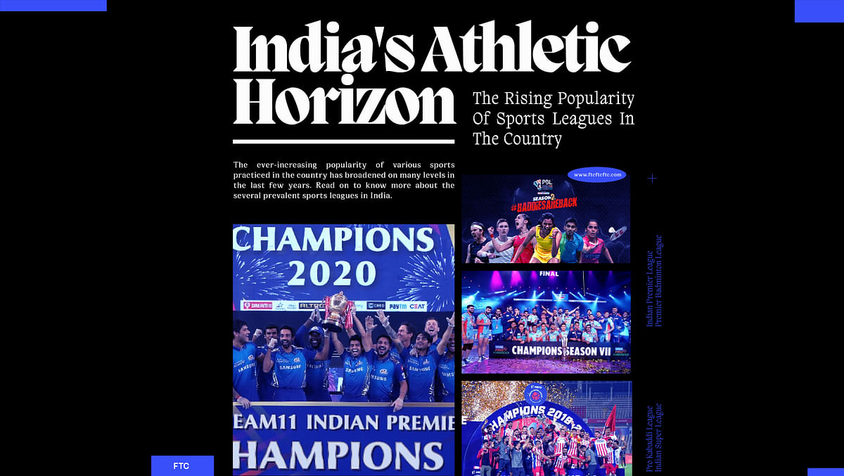 India's Athletic Horizon: The Rising Popularity Of Sports Leagues In The Country