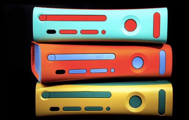 Customized XBOX consoles