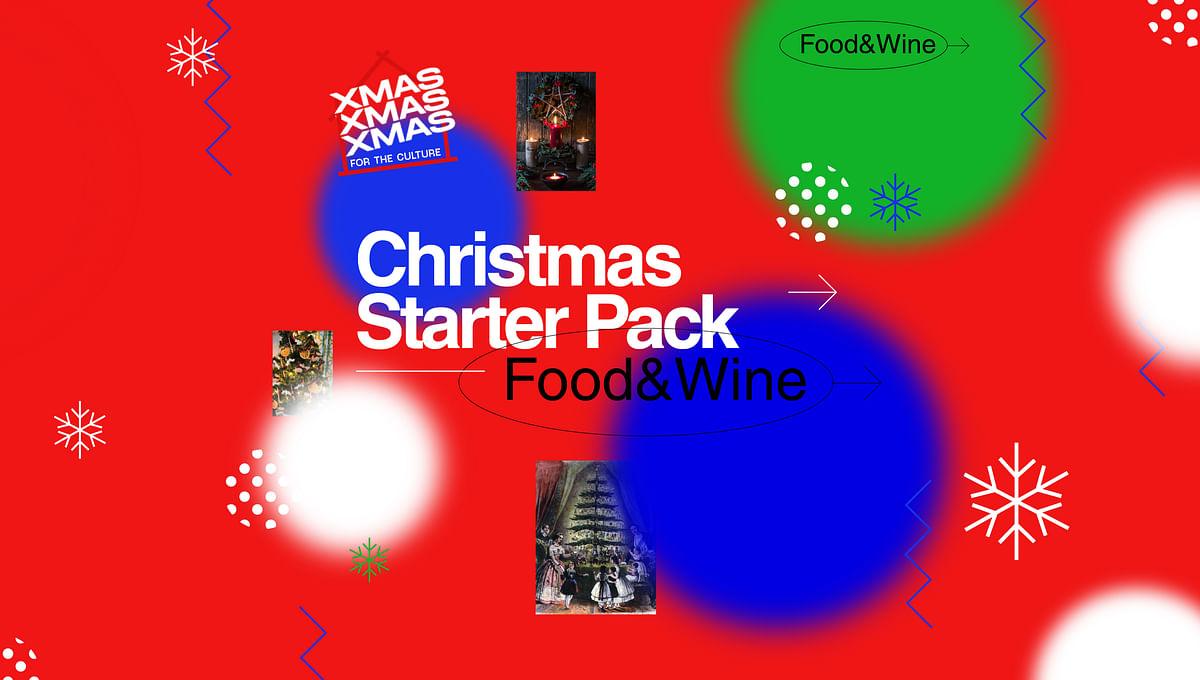Christmas Starter-Pack: The Food & Wine Edit