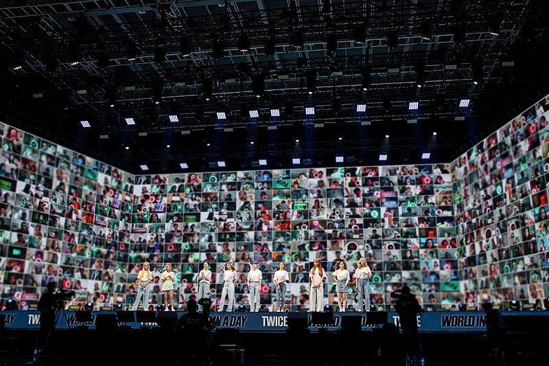 Twice's online concert