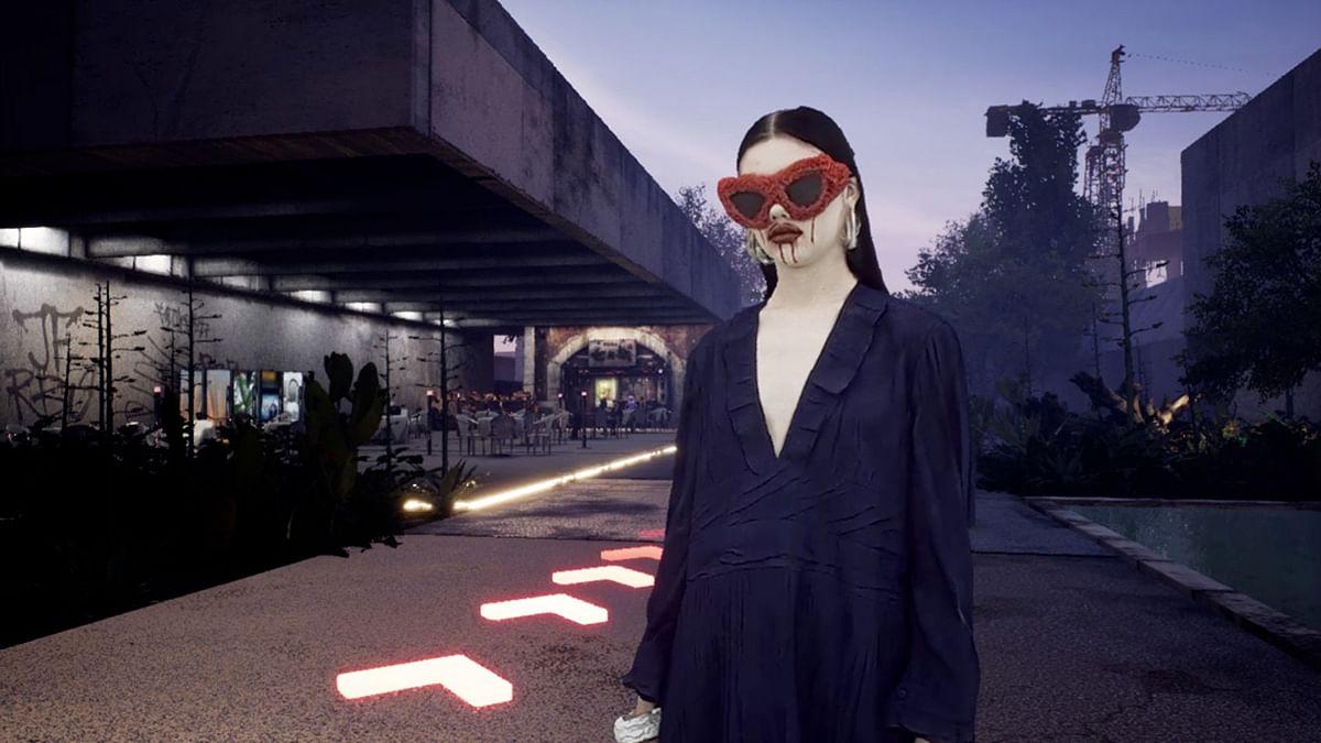 A still from Balenciaga's Afterworld.