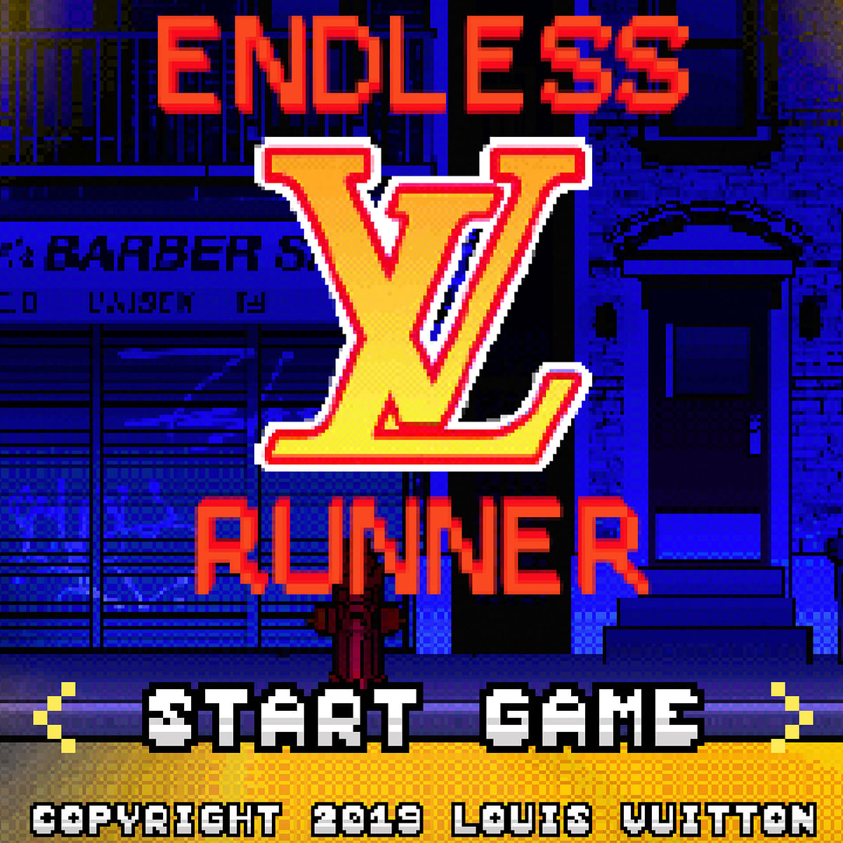 The Louis Vuitton Endless Runner game.
