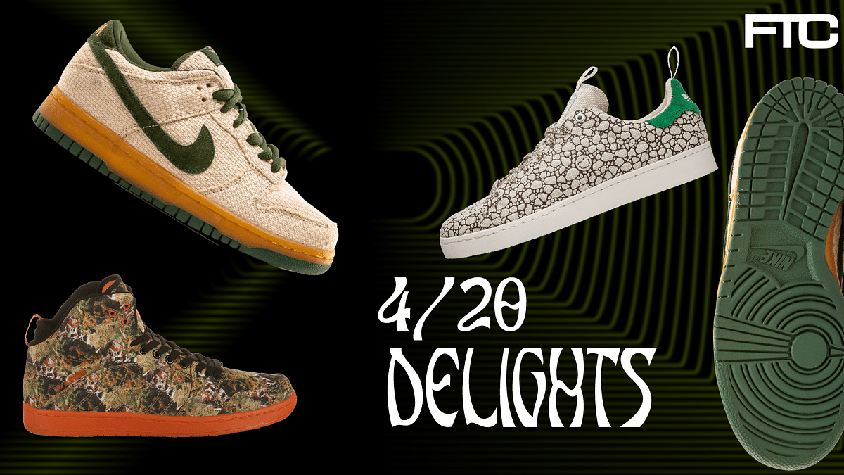 4/20 Delights: When Sneakers Meet That Good Kush