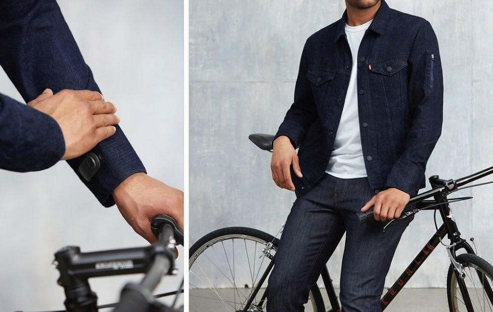 The smart jacket created by Google and Levis