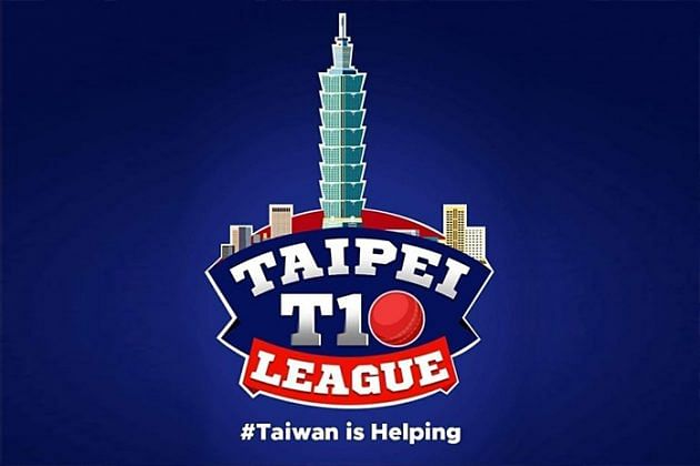 The official logo for the Taipei T10 league
