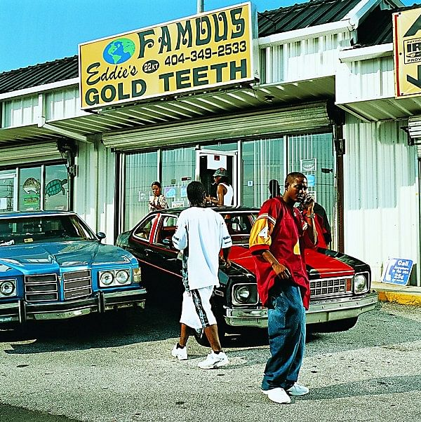 The storefront of Eddie's Famous Gold Teeth