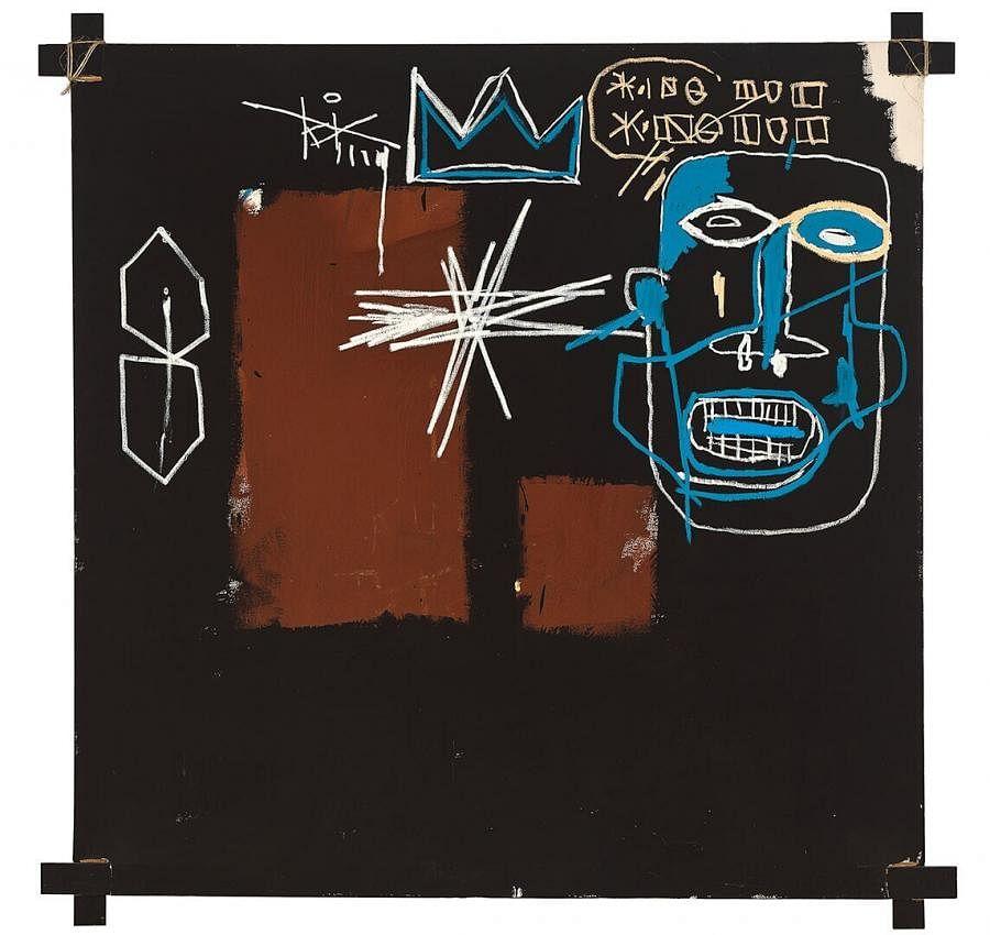 "<div class=""paragraphs""><p><em>Kings of Egypt III </em>by&nbsp;Jean-Michel Basquiat</p></div>"