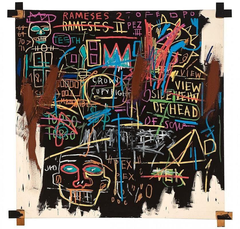 "<div class=""paragraphs""><p><em>Kings of Egypt II</em> by&nbsp;Jean-Michel Basquiat</p></div>"