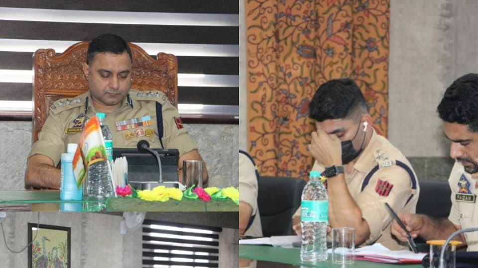 SSP Bandipora chairs review meeting
