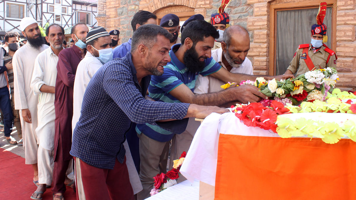 J&K police chief DGP Dilbag Singh attributed the attack to LeT militant group even as he said the attackers would be brought to justice.