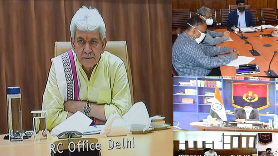 LG chairs series of meetings with Covid Task Force, DCs, SPs