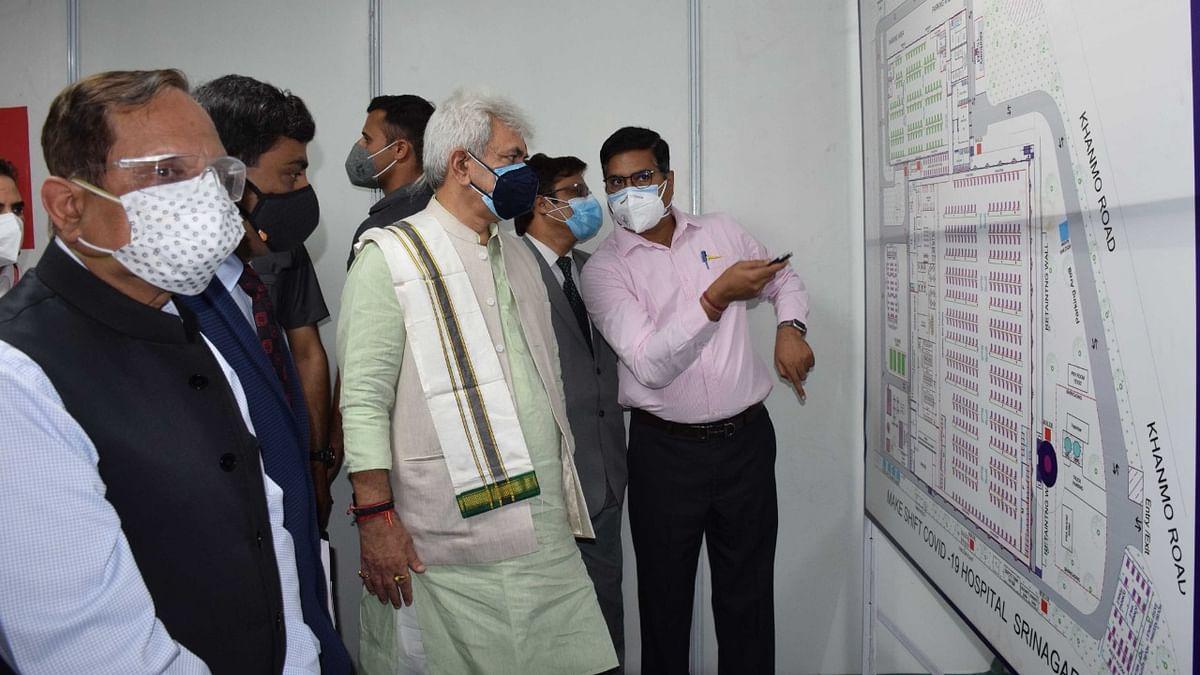 LG inaugurates DRDO's 500-bedded COVID-19 Hospital in Srinagar
