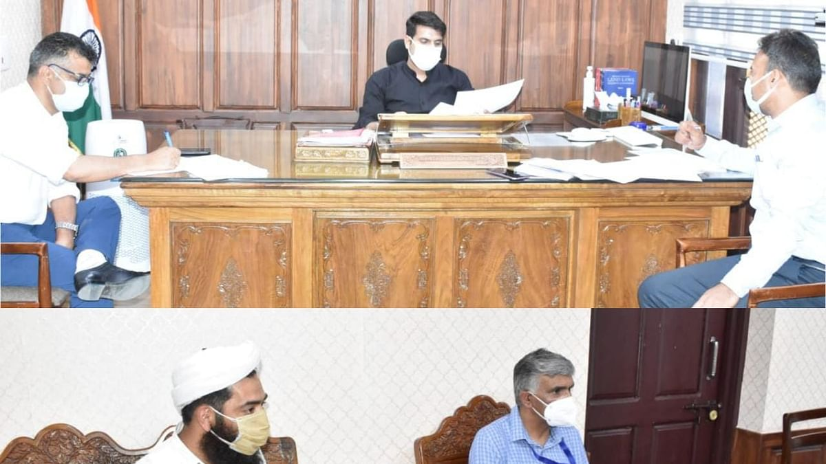 DC Srinagar chairs meeting for rehabilitation of children affected by Covid