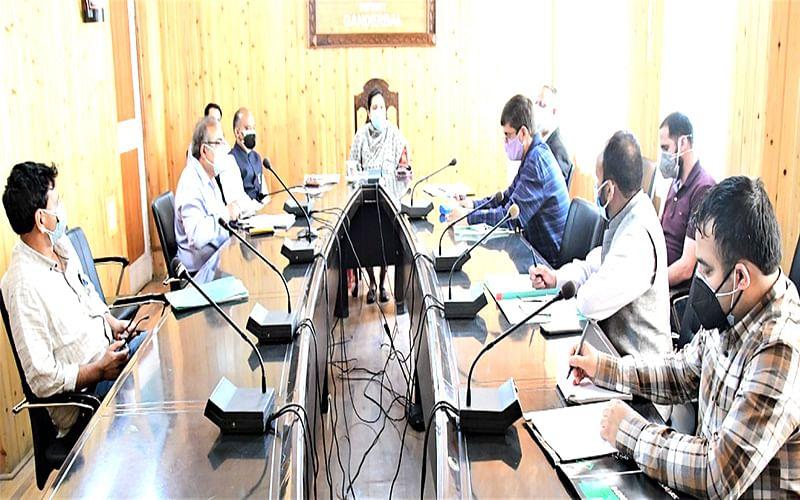 DC Ganderbal chairs 19th BOCA meet