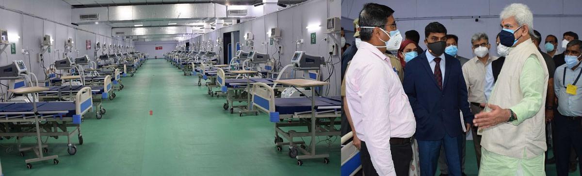 LG Manoj Sinha inaugurates 500-bedded DRDO hospital at Khanmoh in Srinagar on Wednesday, 9 June 2021.