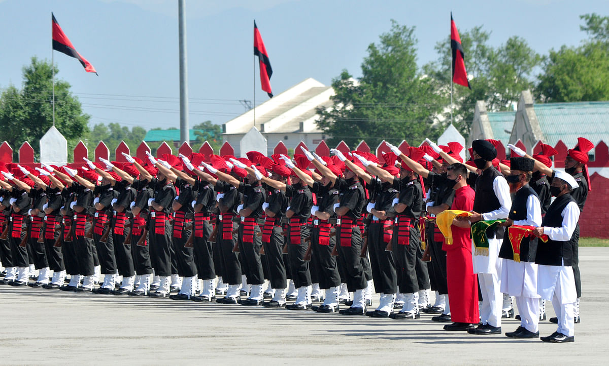 In Pictures: New Recruits of JAKLI Take Part in Oath Taking Ceremony