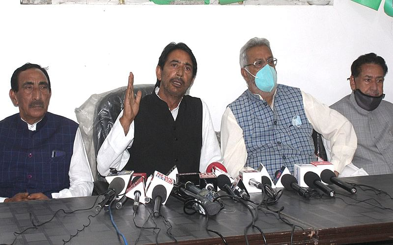 Cong suggested '3-pronged timeline' in all-party meet: GA Mir