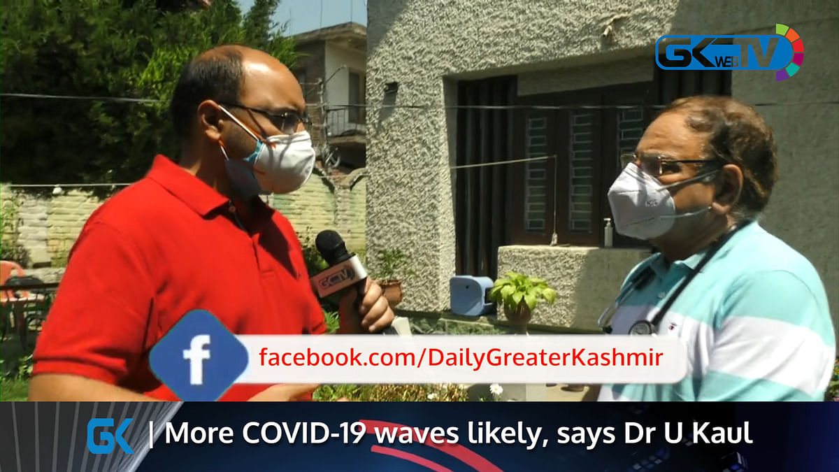 More COVID-19 waves likely, says Dr U Kaul