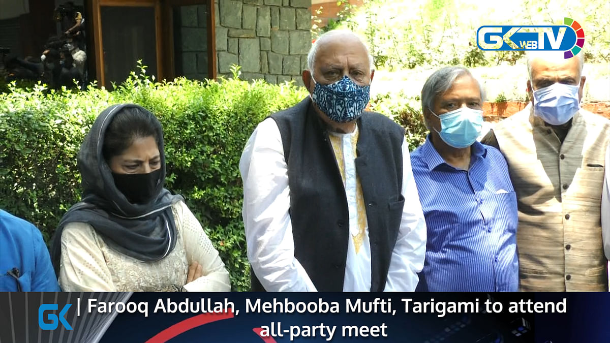 Farooq Abdullah, Mehbooba Mufti, Tarigami to attend all-party meet
