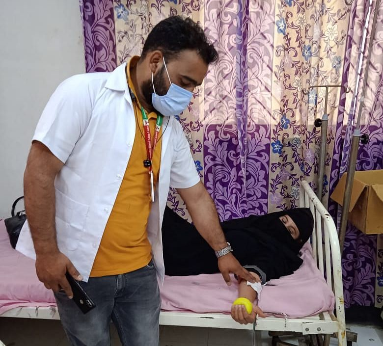 ASHA worker sets example by donating blood 24 times since 2012