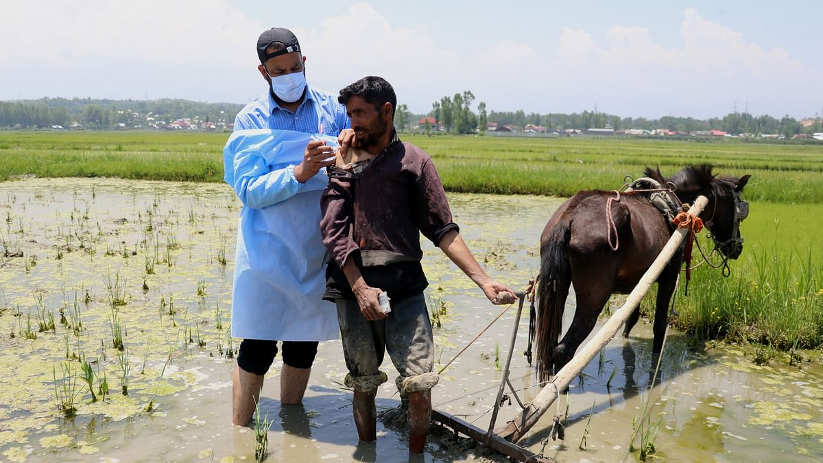 Baramulla achieves 100% Covid-19 vaccination coverage of first dose for above-18 age group