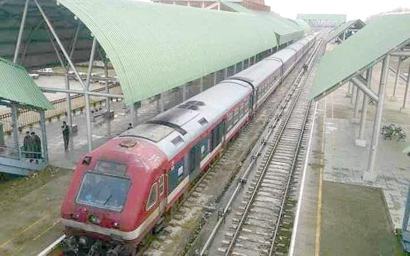 Kashmir train service again suspended till June 16