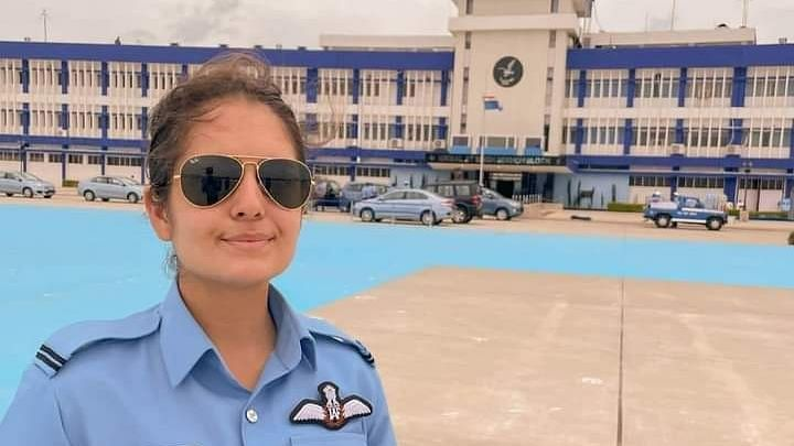 Rajouri girl inducted as IAF fighter jet pilot