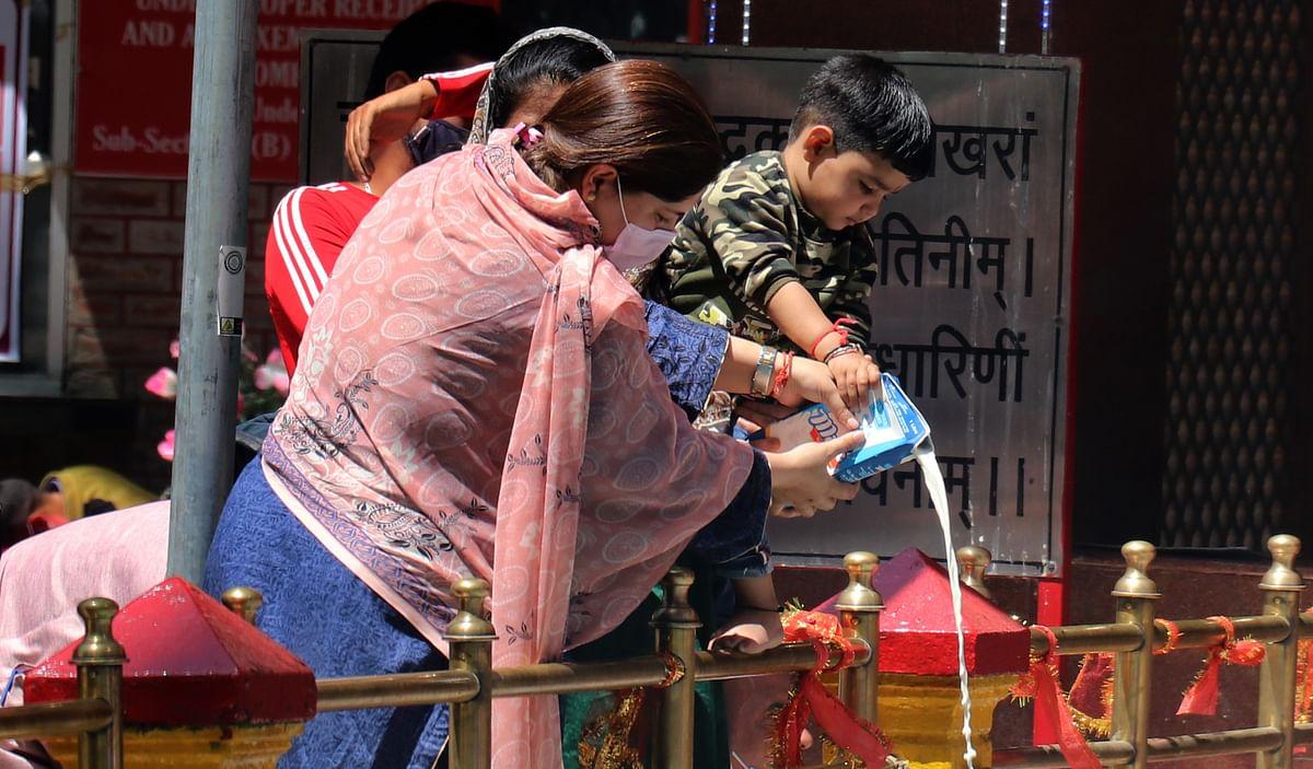 Mela Kheer Bhawani Celebrated in Kashmir