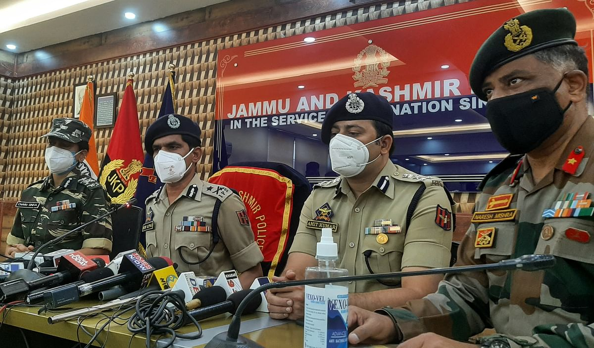 Drone attack: Security tightened around vital installations in Kashmir, says top cop
