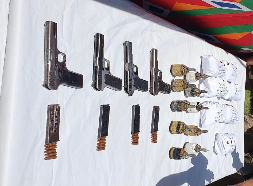 Ammunition recovered in old town Baramulla