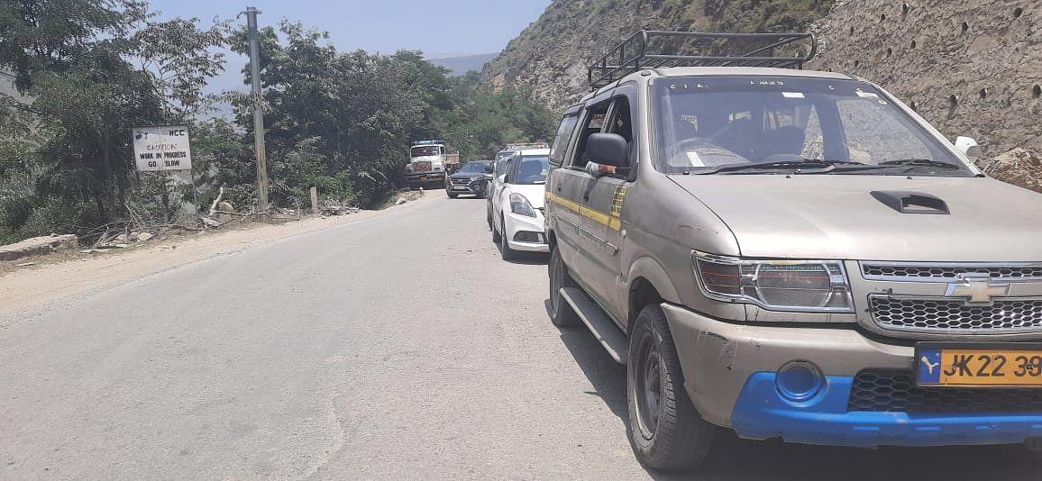 Vehicular traffic restored on Srinagar-Jammu highway after seven hours