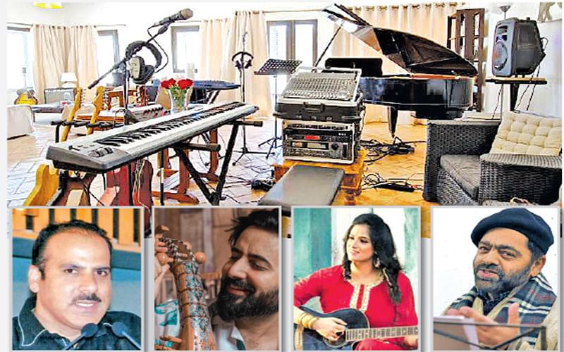Kashmir's artists stay creative, login to online platforms for livelihood