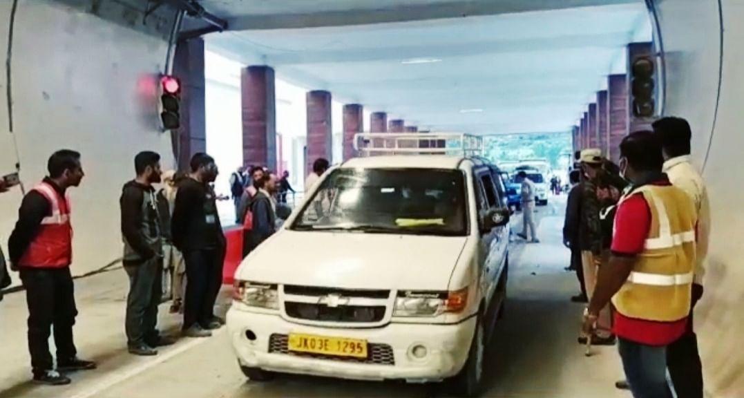 Jammu nearer 16 km: Trial run on Banihal-Qazigund tunnel starts