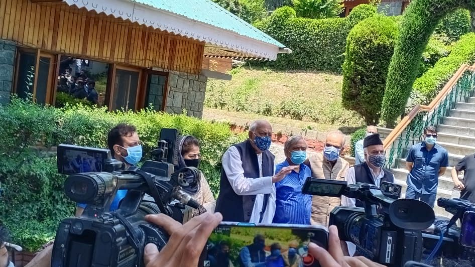 Disappointed at outcome of all-party meeting, elections must be held only after granting statehood to J&K: PAGD