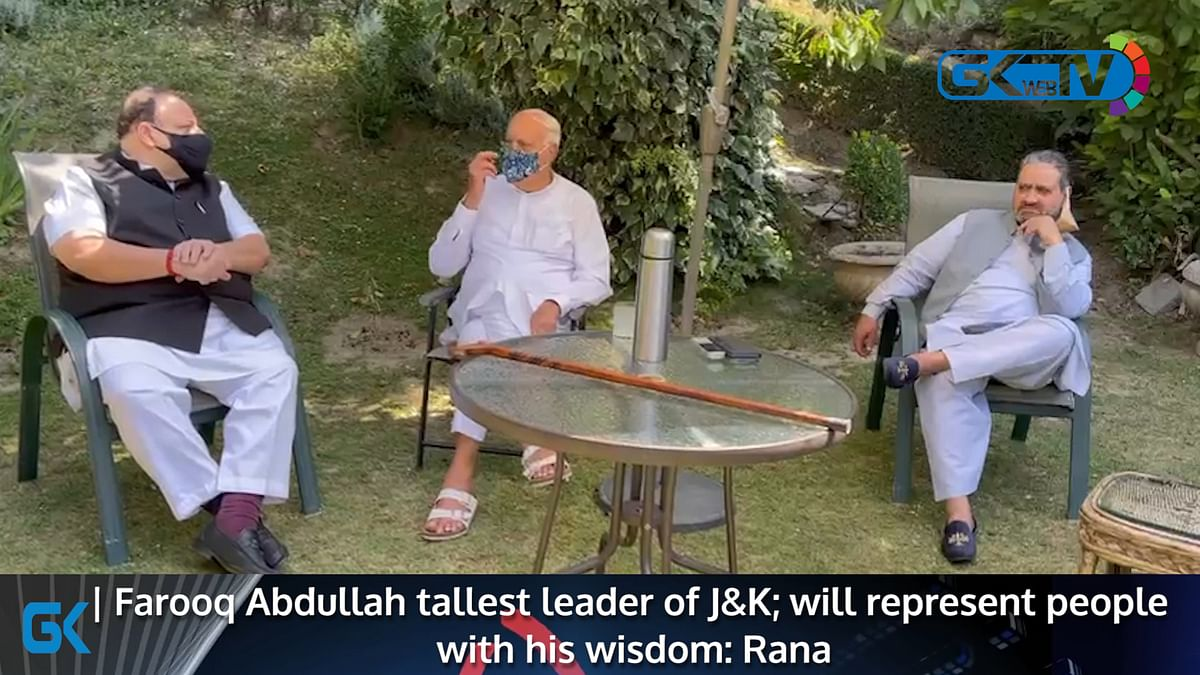 Farooq Abdullah consults party leaders from Jammu