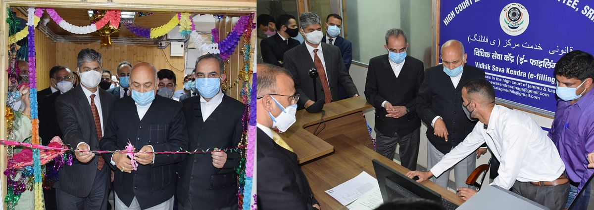 CJ inaugurates Legal Service Centers at HC