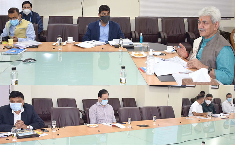 Lt Governor Sinha reviews functioning of J&K Sports Council; Youth Services & Sports department