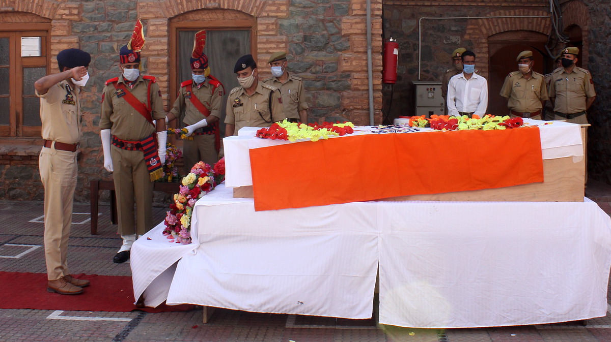 The attack was condemned by Lieutenant Governor Manoj Sinha and the leaders of different political parties.
