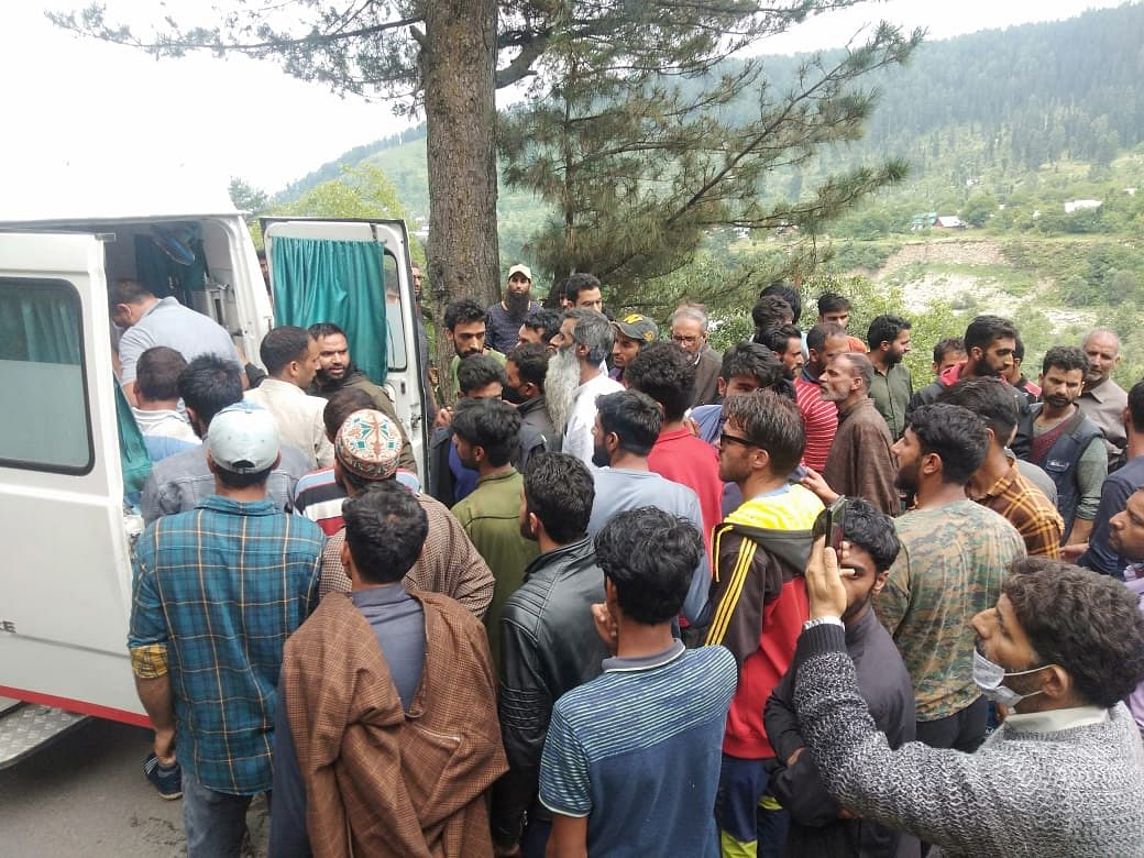 Two young women drown in north Kashmir's Tangmarg, two others rescued