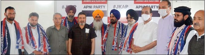 Political leaders, activists from Poonch, Karnah-Kupwara join Apni Party