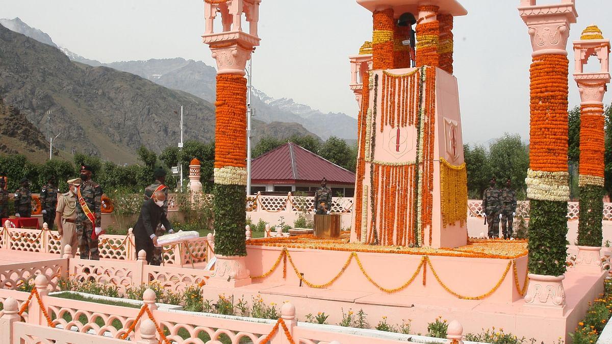 Kargil Vijay Diwas-2021 celebrated at Kargil War Memorial