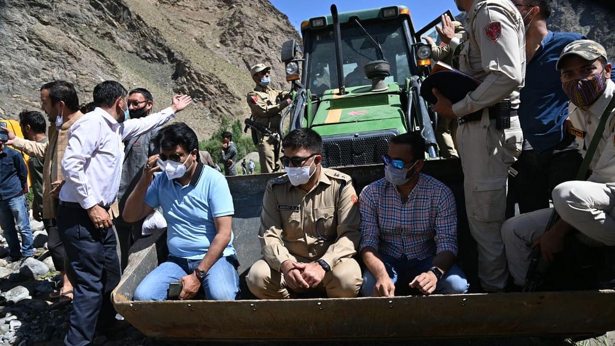 Kargil-Leh highway blocked after fresh flashflood in Kargil