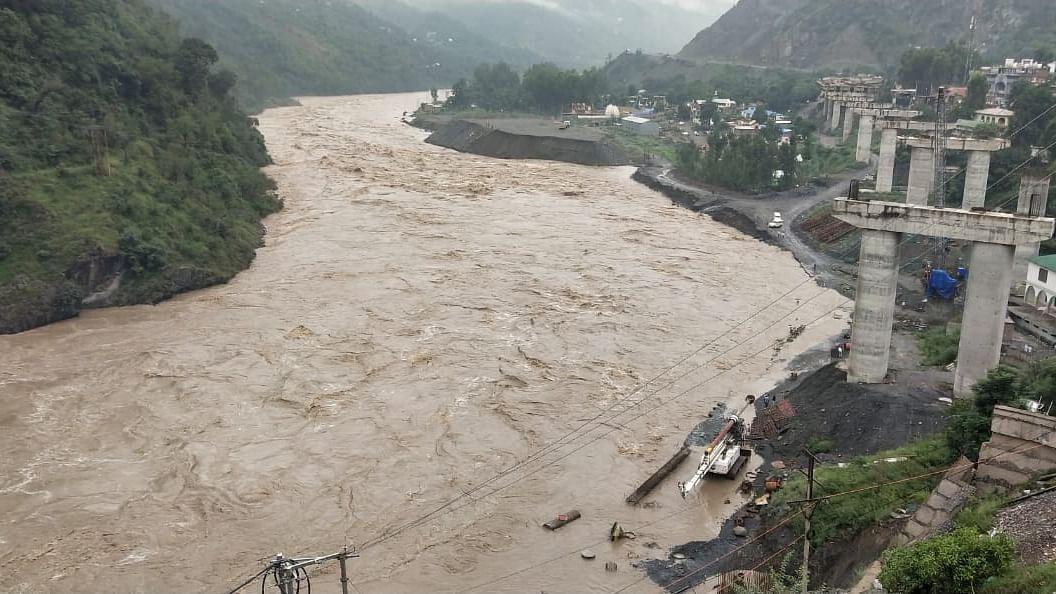 Standing paddy crops damaged in Jammu, Samba, Udhampur