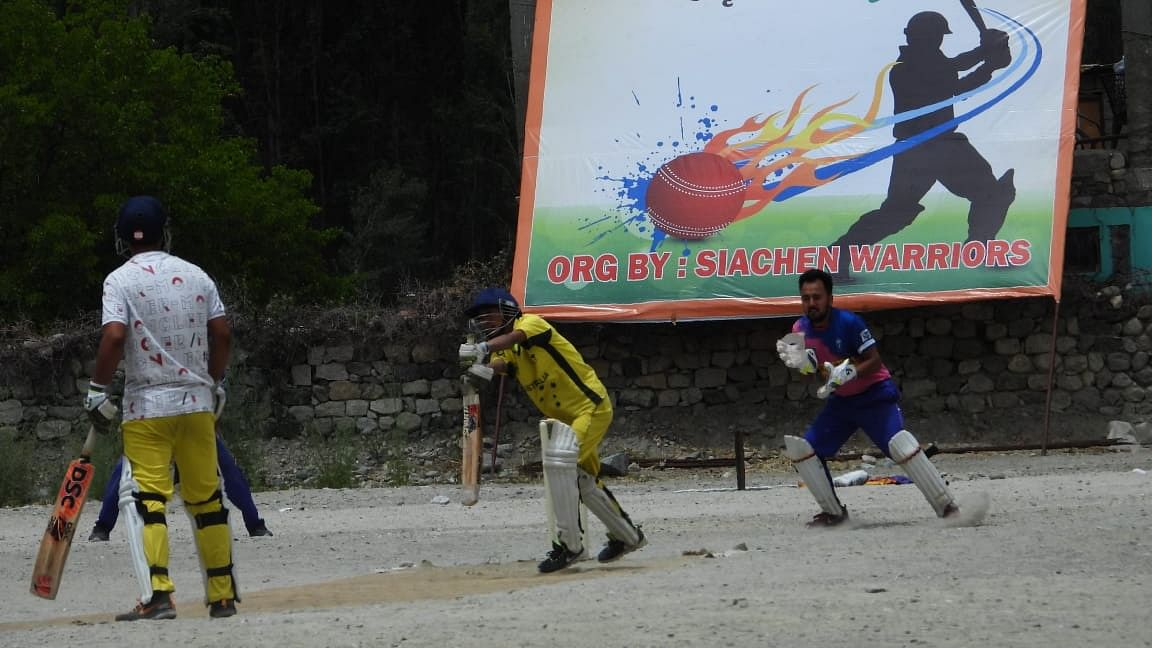 Army organizes first ever Siachen Cricket League in Nubra valley
